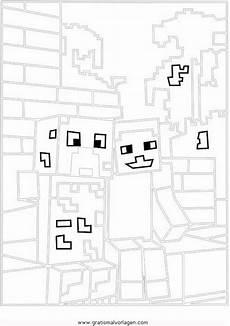 Malvorlagen Minecraft Quest Minecraft Creeper 1 Gratis Malvorlage In Beliebt13