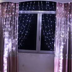 connectable 3x3m led white light curtain string fairy