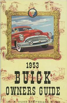 old cars and repair manuals free 1991 buick coachbuilder spare parts catalogs directory index buick 1953 buick 1953 buick owners guide