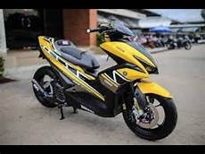 Aerox Modif Simple by Modifikasi Aerox 155 Terbaru 2018 Simple Minimalis
