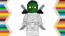 lego ninjago lloyd of time drawing coloring for