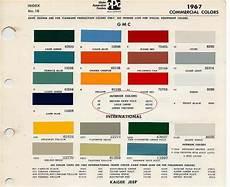 gmc truck paint codes