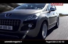 Essai Peugeot 3008 2 0 Hdi 150 2009 L Automobile Magazine