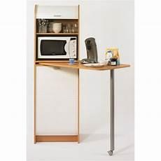 table cuisine avec rangement snack meuble de rangement et table de cuisine 131 1 cm