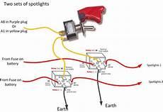 spotlight wiring diagrams