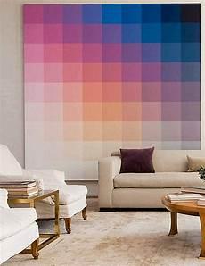 Farbverlauf Wand Streichen - ombre wall decoist