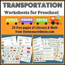 free printable transportation worksheets for preschool money saving mom 174