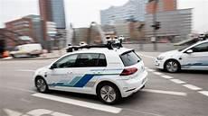 Selbstfahrende Autos Vw Testet Roboterwagen In Hamburg