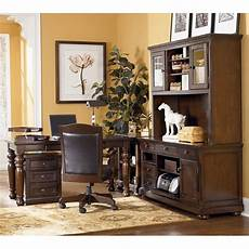 large home office furniture porter leg desk home office set w large hutch credenza