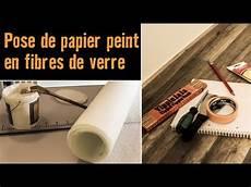 papier de fibre de verre pose de papier peint en fibres de verre atelier brico