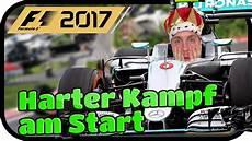 Der Erste Rennstart Harter Kf F1 2017 Melbourne