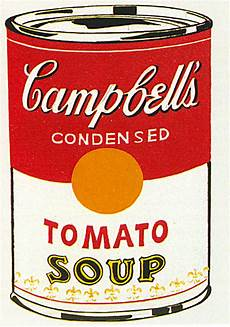 Andy Warhol Tomato Soup Cake Feasting On