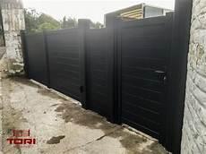 portail portillon et palissade aluminium portails