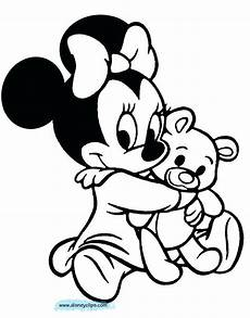 minnie mouse printable coloring pages baby minnie mouse