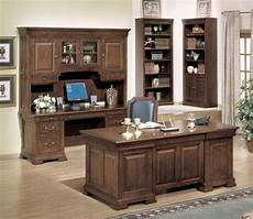 classic home office furniture classic cherry home office executive desk and credenza set