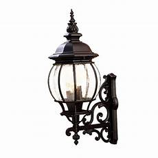 acclaim lighting chateau collection 4 light matte black outdoor wall light fixture 5153bk
