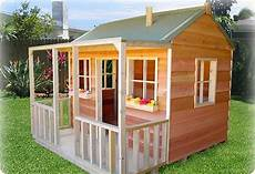 cubby house plans diy simple playhouse plans wallaby lodge quot cubby house play