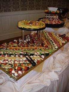 Country Wedding Finger Foods wedding reception finger foods no matter why a