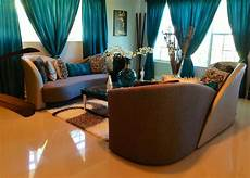 Decorating Ideas For Living Room Teal by Living Room In Teal Silver And Black Decor