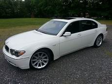 how to sell used cars 2003 bmw 745 spare parts catalogs buy used 2003 bmw 745li base sedan 4 door 4 4l white on black rare in charlotte north
