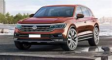With The Concept Of Its All New 2018 Vw Touareg It Is