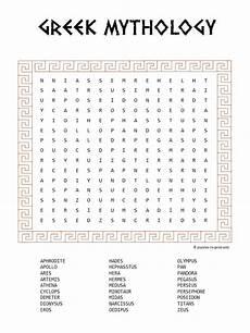 free printable greek mythology word search word search