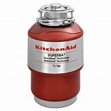 Kitchen Garbage Disposals Reviews by Kitchenaid 3 4 Hp Continuous Feed Garbage Disposal
