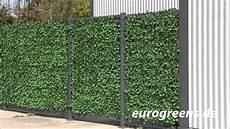 efeu hecke co sichtschutz im eurogreens kunstpflanzen efeu hecke