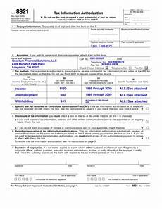 fillable online form 8821 rev april 2004 tax information authorization fax email print
