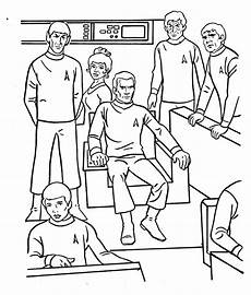 trek the coloring book of much holding
