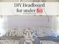 Bedroom Ideas Cheap And Easy by Diy Headboard For 15 I Could Make This Diy