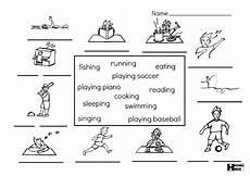 like sports worksheets 15833 verbs interactive worksheet