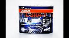 h7 osram breaker unlimited 110 żar 211 wka halogenowa