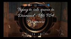 trying to solo queue to diamond rb6 ps4 fragmovie youtube