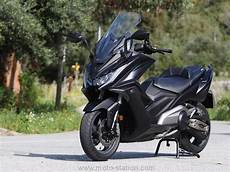 kymco ak 550 premier essai en ligne scooter