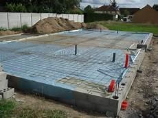 construction de notre maison pr 233 paration avant coulage de