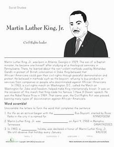 martin luther king jr historical heroes black history