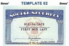make a social security card template social security numbers wa state id cards uw tacoma