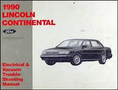 how to fix cars 1990 lincoln continental parental controls 1990 lincoln continental foldout wiring diagrams original