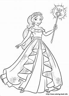 Ausmalbilder Prinzessin Avalor Of Avalor Coloring Picture Princess Coloring Pages
