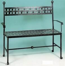 divanetto ferro battuto divano divanetto panchina panca ferro battuto cm 120