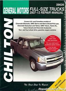 service manuals schematics 2009 gmc sierra parking system chilton 2007 2013 chevrolet silverado gmc sierra repair manual