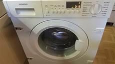 Siemens Waschmaschine Wi14s440 30 Iq700 Schleudert Nicht
