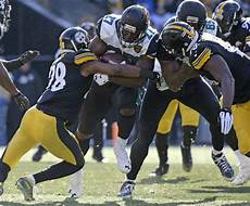 steelers jaguars playoffs jaguars stun steelers 45 42 to earn trip to afc title
