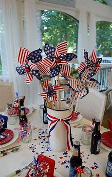 Decorating Ideas For July Fourth by A Patriotic Celebration Table Setting Holidays 4th Of