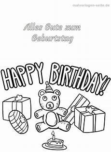 Malvorlagen Happy Malvorlage Happy Birthday Malvorlagen Ausmalbilder Und