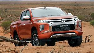 2019 Mitsubishi Triton Revealed Facelifted Ute Gets All