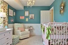 Kinderzimmer Streichen Blau - hayden s girly teal nursery project nursery
