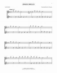 jingle bells alto sax duet print sheet music now