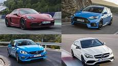 4 cylinder cars on gas ranked the most powerful four cylinder production cars